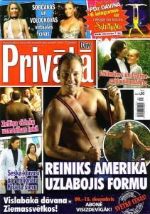 Privata Dzive- Lauris Reiniks naked ASV 2011