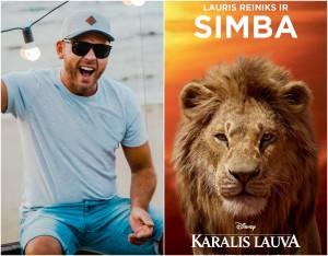lauris reiniks karalis lauva simba lion king